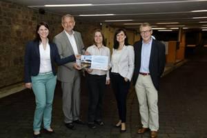 Erste Elektro-Ladesäule für Neckargemünd