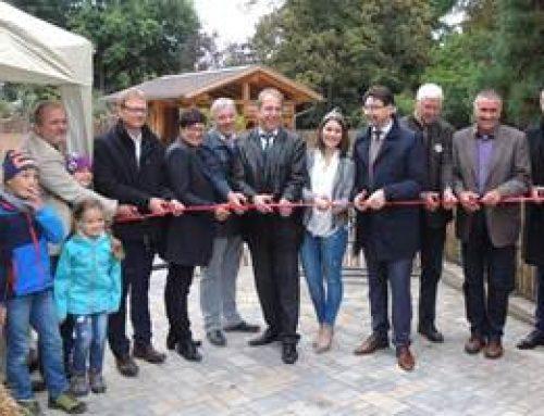 Landau: Streichelgehege im Zoo wurde neu eröffnet