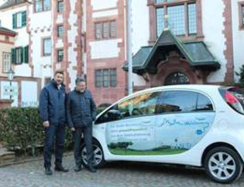 Weinheim: Bürgermeister fährt klimaneutral